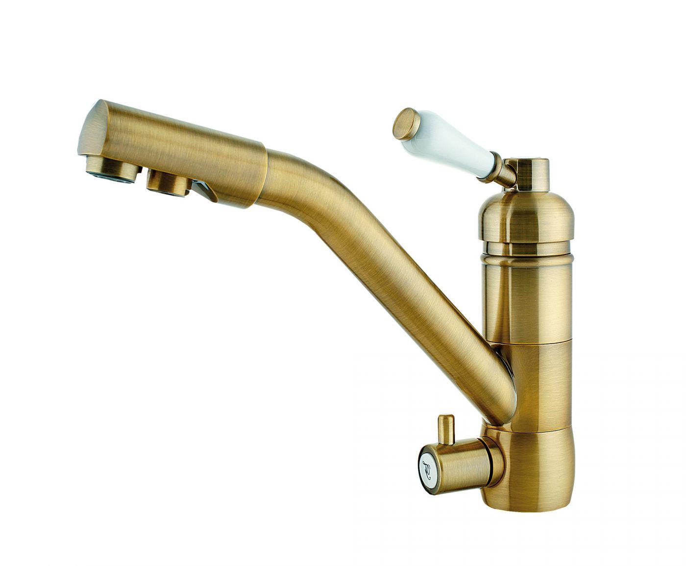 Elghansa Terrakotta 56A2636-Bronze Смеситель для кухни под фильтр