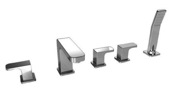 Kaiser Sonat 34222 Смеситель для ванны на 5 отверстий
