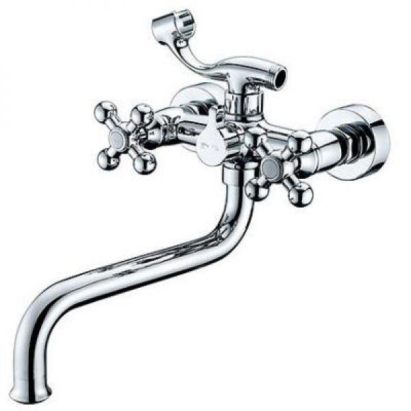 Kaiser 11255 Смеситель для ванны с длинным изливом